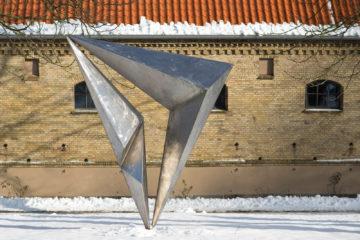 Volkmar Haase: Offenes Dreieck, (Foto: KUNST@SH/Jan Petersen)