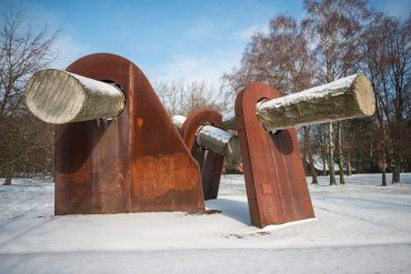Hans-Jürgen Breuste: WIK – Denkmal zum Matrosenaufstand 1918, (Foto: KUNST@SH/Jan Petersen)