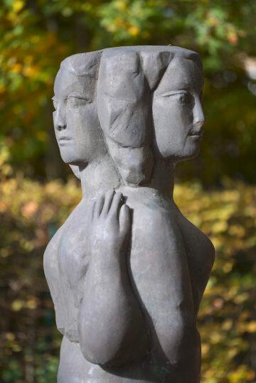 Hans Kock: Doppelfigur, (Foto: KUNST@SH/Jan Petersen, 2016)
