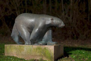 Hans Martin Ruwoldt: Eisbär, (Foto: KUNST@SH/Jan Petersen)