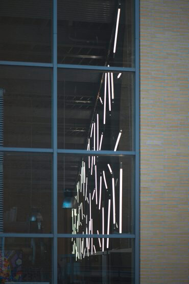Hans Peter Kuhn: Lichtwand, (Foto: KUNST@SH/Jan Petersen, 2016)
