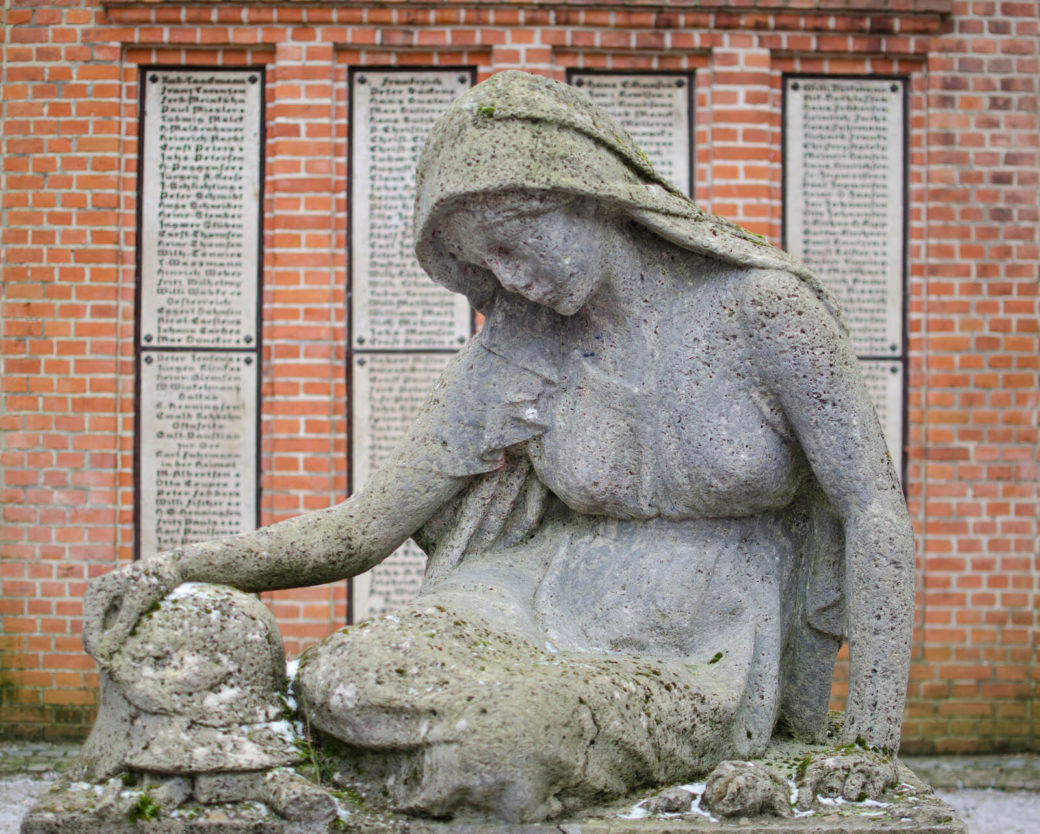 Heinrich Mißfeldt: Mahnmal für die Opfer des Ersten Weltkriegs, (Foto: KUNST@SH/Jan Petersen)