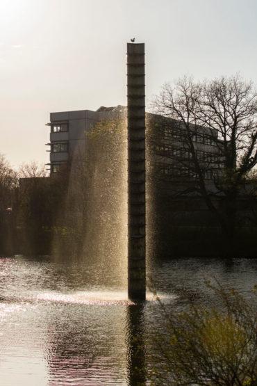 Hermann Goepfert und Johannes Peter Hölzinger: Wasserobjekt, (Foto: KUNST@SH/Jan Petersen)