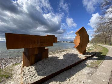 Jörg Plickat: Tribute to the planet (Foto: Susanne Cornelius / Kulturforum Strande)