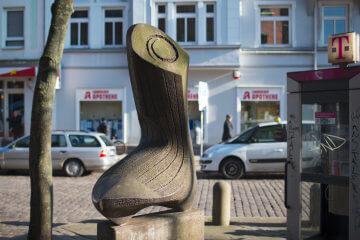 Ernest Igl: Kieler Socke, (Foto: KUNST@SH/Jan Petersen)