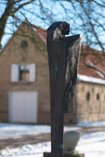 Jan Koblasa: Christus und Boten, (Foto: KUNST@SH/Jan Petersen)
