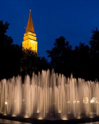 Jeppe-Hein-Brunnen, (Foto: KUNST@SH/Jan Petersen)