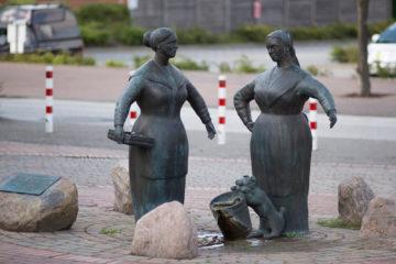 Jörg Plickat: Gettorfer Marktfrauen, (Foto: KUNST@SH/Jan Petersen)