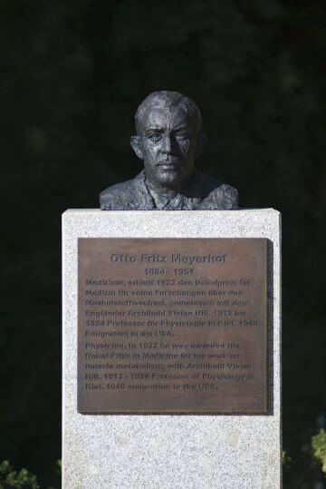 Jörg Plickat: Kieler Nobelpreisträger, (Foto: KUNST@SH/Jan Petersen, 2015)