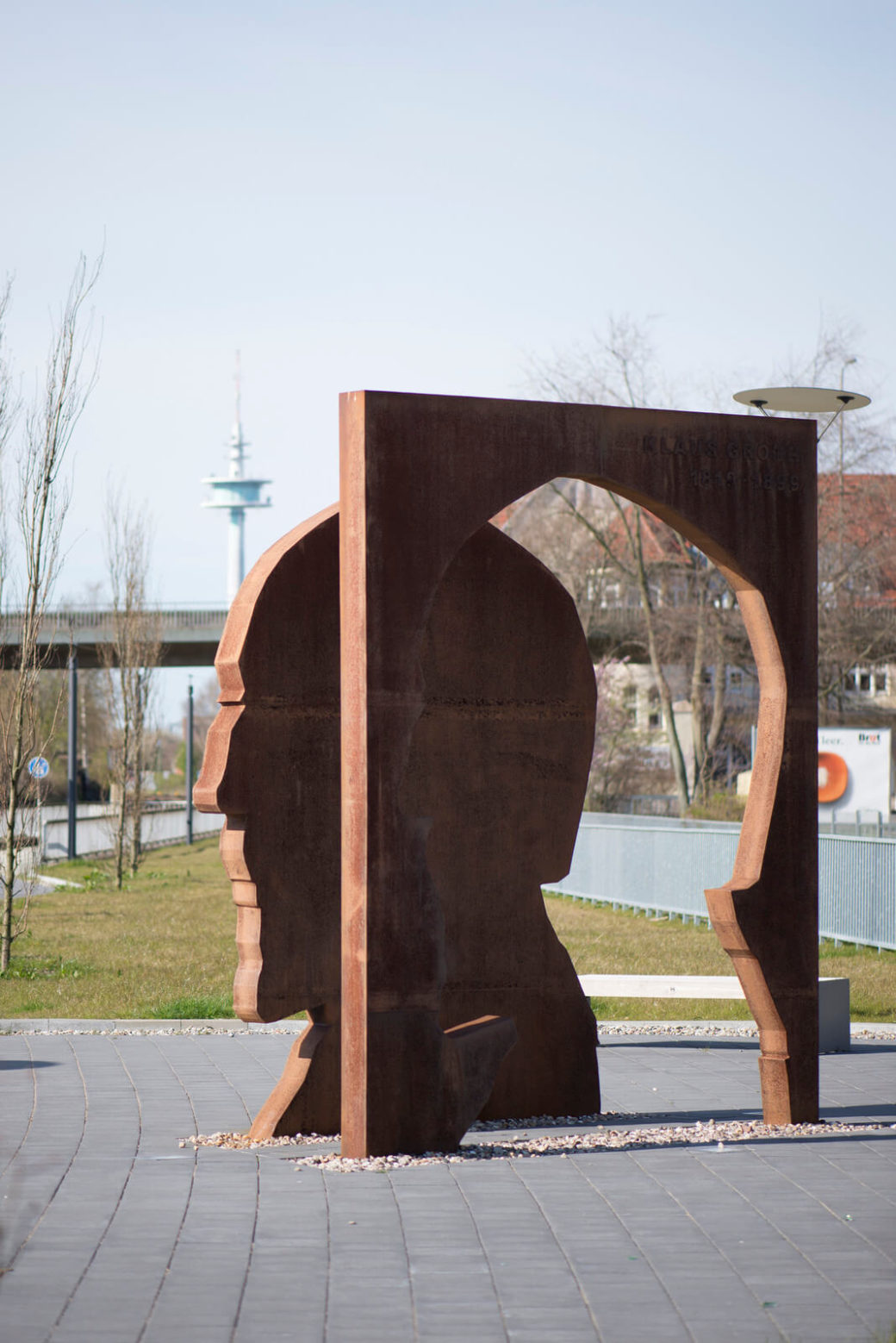 Jörg Plickat: Klaus-Groth-Denkmal, (Foto: KUNST@SH/Jan Petersen)