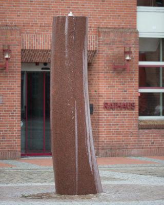 Josef Jaekel: Stele, (Foto: KUNST@SH/Jan Petersen, 2016)