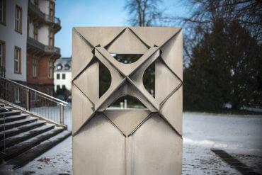 Karl-Ludwig Schmaltz: Raumzeichen alpha, (Foto: KUNST@SH/Jan Petersen)