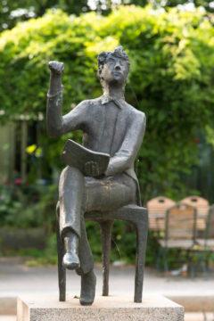Karlheinz Goedtke: Der junge Poet, (Foto: KUNST@SH/Jan Petersen)