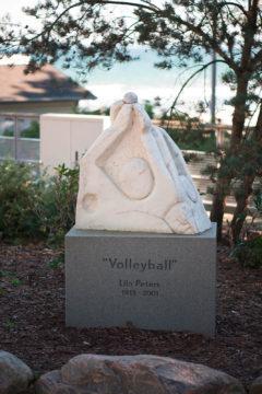 Lilo Peters: Volleyball, (Foto: KUNST@SH/Jan Petersen, 2015)