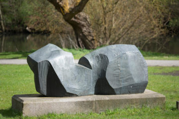 Manfred Sihle-Wissel: Rendsburger Skulptur, (Foto: KUNST@SH/Jan Petersen)