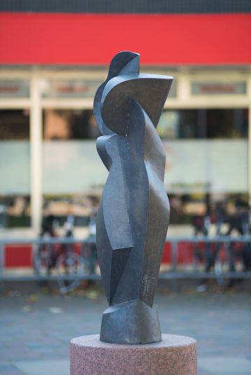 Manfred Sihle-Wissel: Figur Nortorf, (Foto: KUNST@SH/Jan Petersen)