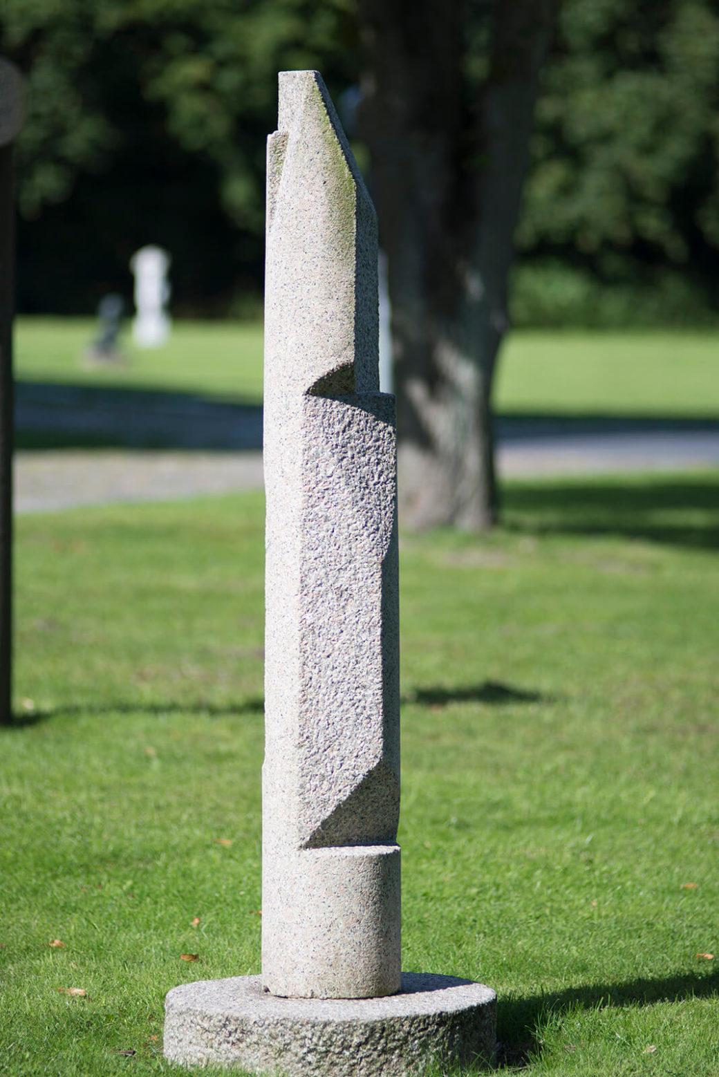 Manfred Sihle-Wissel: Stele, (Foto: KUNST@SH/Jan Petersen)