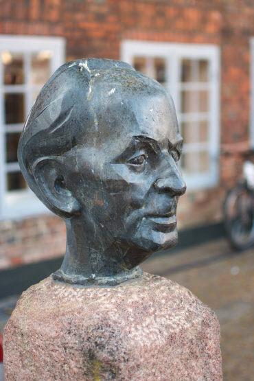 Manfred Sihle-Wissel: Wilhelm-Lehmann-Büste, (Foto: KUNST@SH/Jan Petersen)