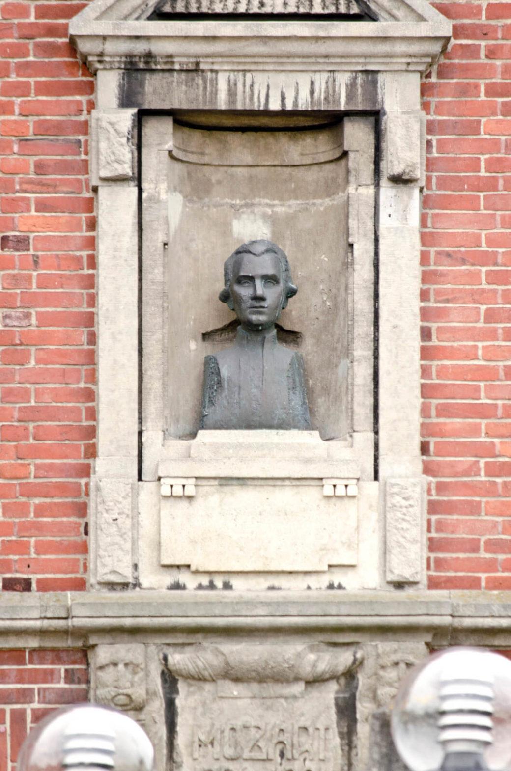 Marie-Luise Bauerschmidt: Mozart und Schiller, (Foto: KUNST@SH/Jan Petersen)