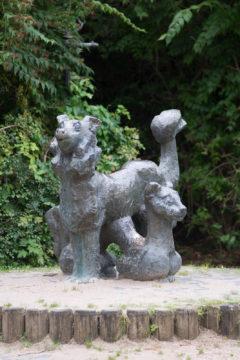 Max Schegulla: Hund und Katze, (Foto: KUNST@SH/Jan Petersen)