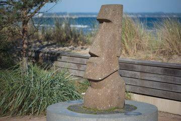 Moai Maea, (Foto: KUNST@SH/Jan Petersen)
