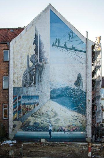 Uwe Oswald: Wandbilder, (Foto: KUNST@SH/Jan Petersen)