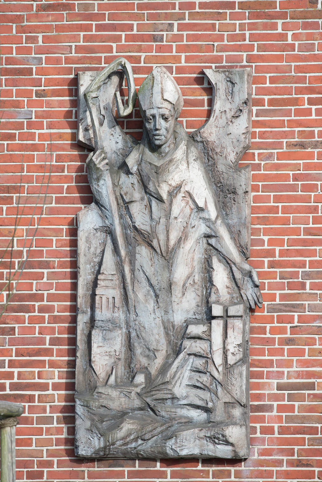 Paul Brandenburg: Heiliger Nikolaus, (Foto: KUNST@SH/Jan Petersen, 2016)