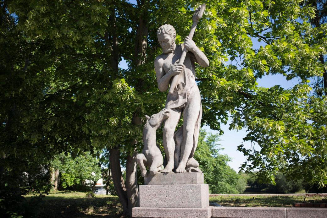 Paul Heinrich Gnekow: Brückenfigur Neptun, (Foto: KUNST@SH/Jan Petersen)
