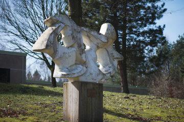 Pierre Schumann: Großer Vogelschwarm, (Foto: KUNST@SH/Jan Petersen, 2017)