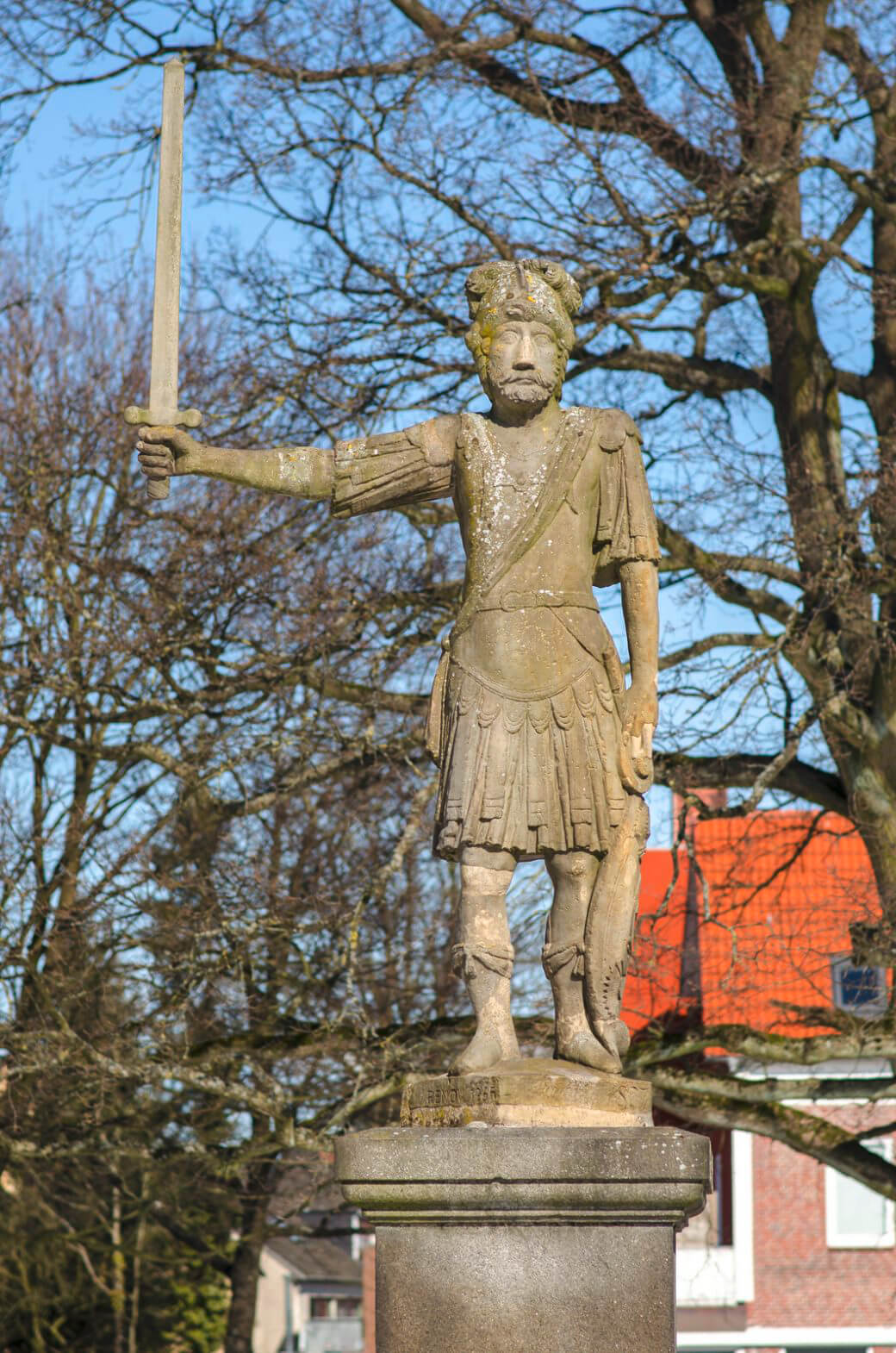 Roland-Figur in Bad Bramstedt, (Foto: KUNST@SH/Jan Petersen)