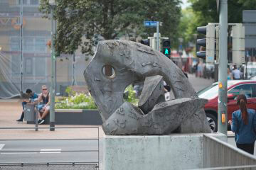 Rolf Goerler: Ineinandergreifende Formen, (Foto: KUNST@SH/Jan Petersen, 2016)