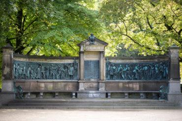 Rudolf Siemering und Heinrich Moldenschardt: Kriegerdenkmal, (Foto: KUNST@SH/Jan Petersen)