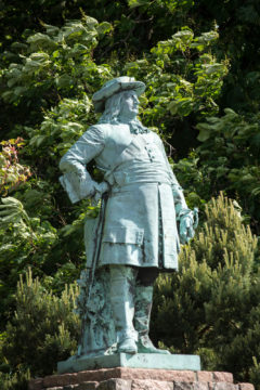 Fritz Schaper: Denkmal des Großen Kurfürsten, (Foto: KUNST@SH/Jan Petersen)
