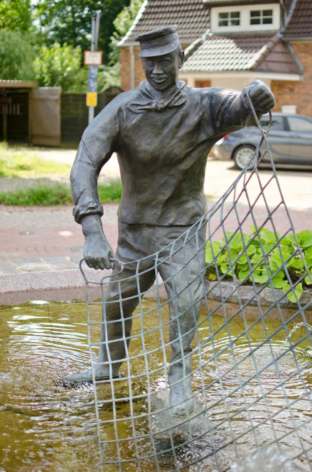 Johannes Schlüter: Aalversuper-Brunnen, (Foto: KUNST@SH/Jan Petersen)