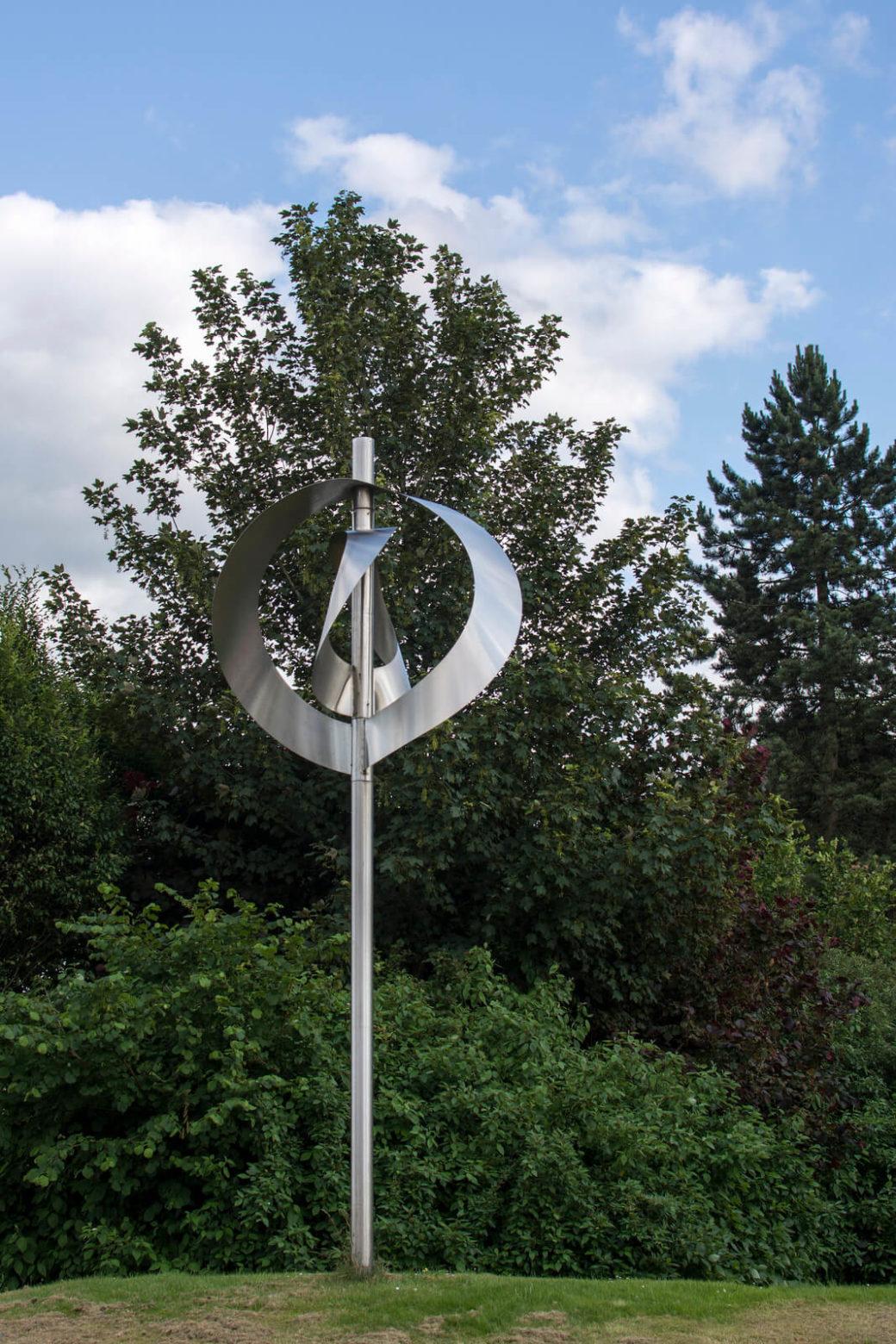 Hein Sinken: Windobjekt Schleswig, (Foto: KUNST@SH/Jan Petersen)