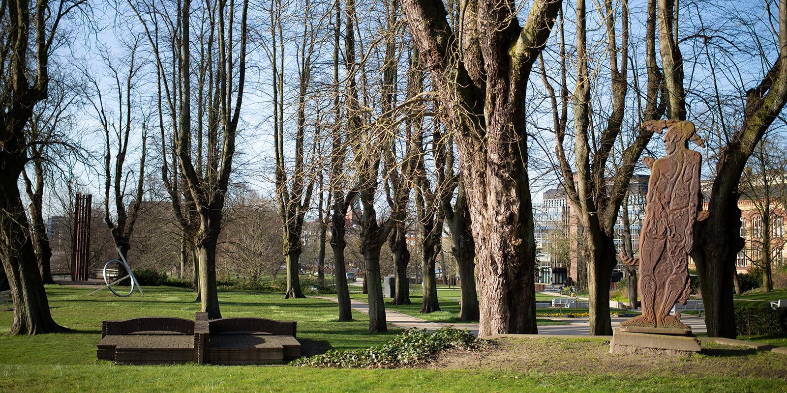 Skulpturengarten der Kunsthalle zu Kiel