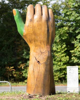 Thomas Jaspert: Der grüne Daumen, (Foto: KUNST@SH/Jan Petersen)