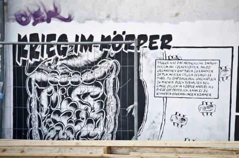 Tim Eckhorst: Krieg im Körper, (Foto: KUNST@SH/Jan Petersen)