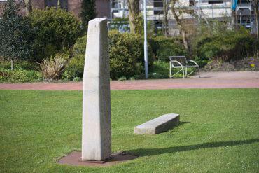 Uwe Gripp: Stele, (Foto: KUNST@SH/Jan Petersen, 2016)