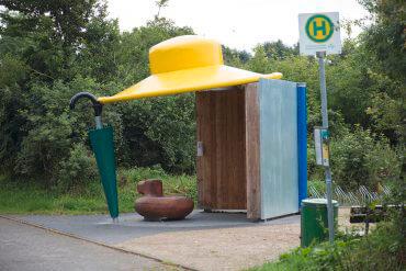 Uwe Gripp: Schutzhütte, (Foto: KUNST@SH/Jan Petersen)