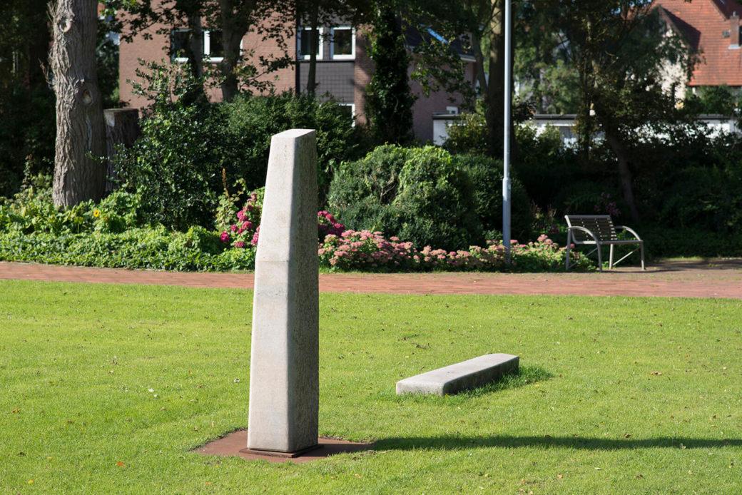 Uwe Gripp: Stele, (Foto: KUNST@SH/Jan Petersen)