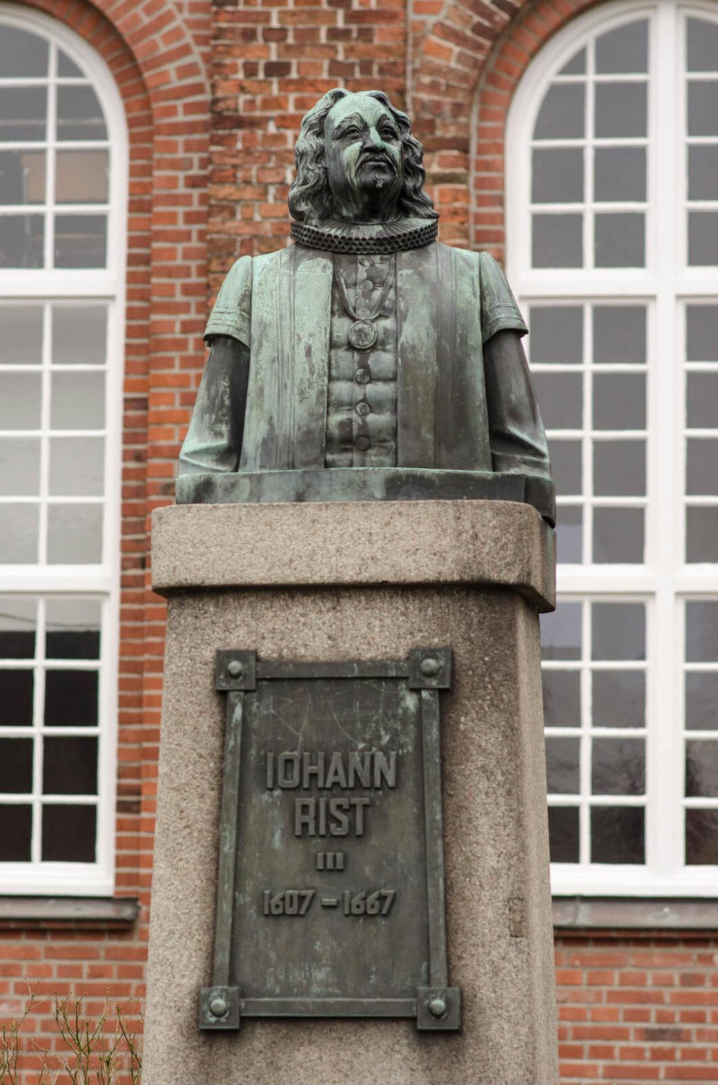 Werner Issel und Hans Poelzig: Denkmal für Pastor und Dichter Johann Rist, (Foto: KUNST@SH/Jan Petersen)